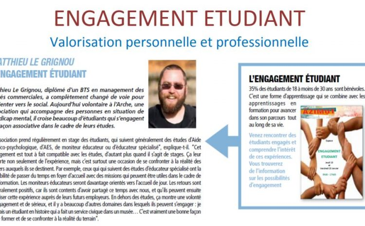 Interview Matthieu – Engagement étudiant